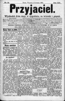 Przyjaciel : pismo dla ludu 1893 nr 29