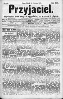 Przyjaciel : pismo dla ludu 1893 nr 32