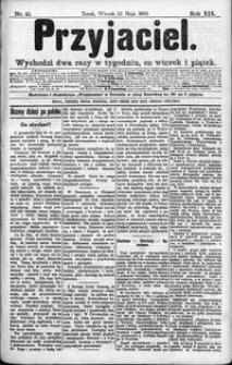 Przyjaciel : pismo dla ludu 1893 nr 41