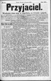 Przyjaciel : pismo dla ludu 1893 nr 61