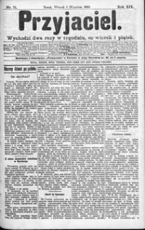 Przyjaciel : pismo dla ludu 1893 nr 71