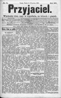 Przyjaciel : pismo dla ludu 1893 nr 74