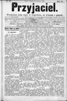 Przyjaciel : pismo dla ludu 1894 nr 10