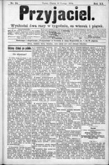 Przyjaciel : pismo dla ludu 1894 nr 14