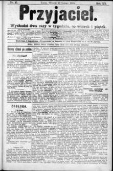 Przyjaciel : pismo dla ludu 1894 nr 17