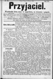 Przyjaciel : pismo dla ludu 1894 nr 20