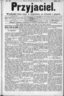Przyjaciel : pismo dla ludu 1894 nr 23