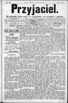 Przyjaciel : pismo dla ludu 1894 nr 28