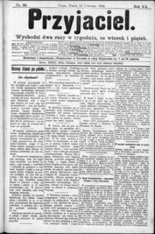 Przyjaciel : pismo dla ludu 1894 nr 30
