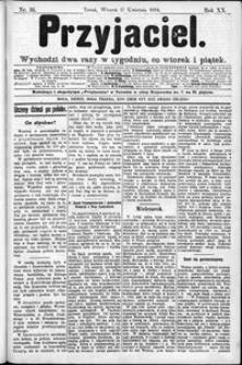 Przyjaciel : pismo dla ludu 1894 nr 31