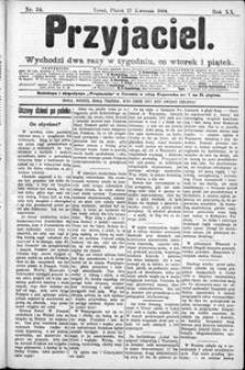 Przyjaciel : pismo dla ludu 1894 nr 34