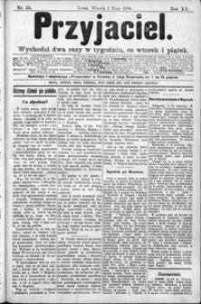 Przyjaciel : pismo dla ludu 1894 nr 35