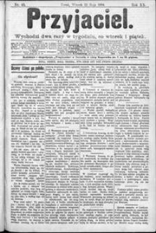 Przyjaciel : pismo dla ludu 1894 nr 41