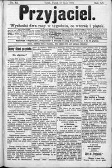 Przyjaciel : pismo dla ludu 1894 nr 42