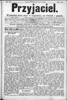 Przyjaciel : pismo dla ludu 1894 nr 45