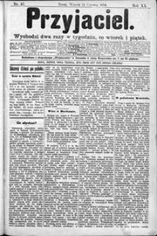 Przyjaciel : pismo dla ludu 1894 nr 47