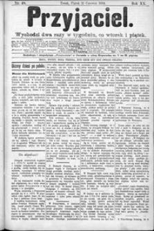 Przyjaciel : pismo dla ludu 1894 nr 48