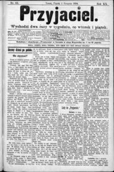 Przyjaciel : pismo dla ludu 1894 nr 62