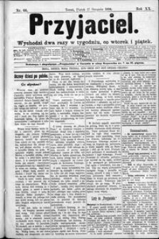 Przyjaciel : pismo dla ludu 1894 nr 66
