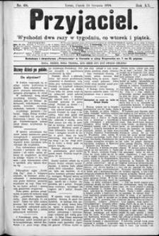 Przyjaciel : pismo dla ludu 1894 nr 68