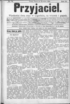 Przyjaciel : pismo dla ludu 1894 nr 74