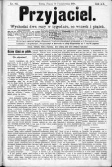 Przyjaciel : pismo dla ludu 1894 nr 84