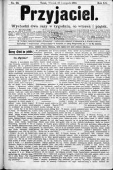 Przyjaciel : pismo dla ludu 1894 nr 93