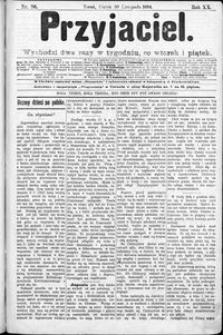 Przyjaciel : pismo dla ludu 1894 nr 96