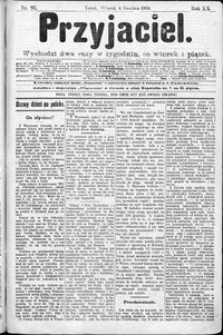 Przyjaciel : pismo dla ludu 1894 nr 97