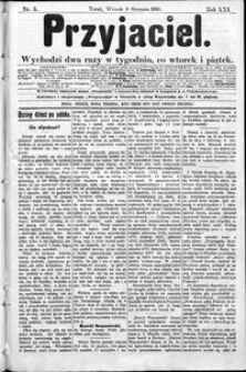 Przyjaciel : pismo dla ludu 1895 nr 3
