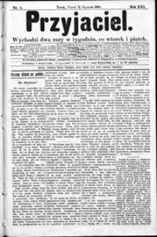 Przyjaciel : pismo dla ludu 1895 nr 4