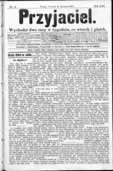 Przyjaciel : pismo dla ludu 1895 nr 5