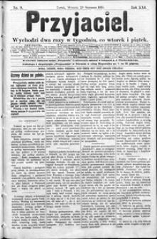 Przyjaciel : pismo dla ludu 1895 nr 9