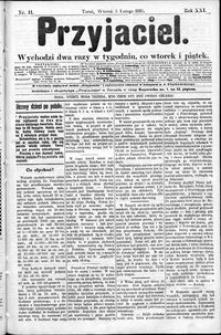 Przyjaciel : pismo dla ludu 1895 nr 11