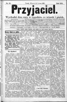 Przyjaciel : pismo dla ludu 1895 nr 13