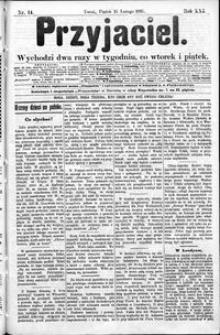 Przyjaciel : pismo dla ludu 1895 nr 14
