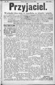 Przyjaciel : pismo dla ludu 1895 nr 16