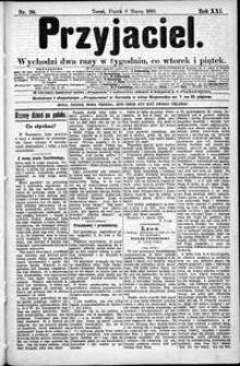 Przyjaciel : pismo dla ludu 1895 nr 20