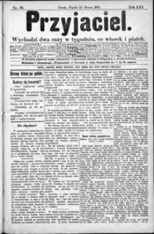 Przyjaciel : pismo dla ludu 1895 nr 26