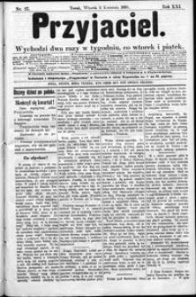 Przyjaciel : pismo dla ludu 1895 nr 27