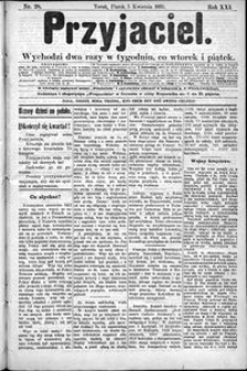 Przyjaciel : pismo dla ludu 1895 nr 28