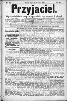 Przyjaciel : pismo dla ludu 1895 nr 32