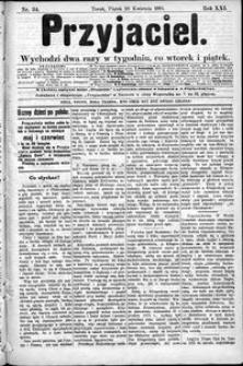 Przyjaciel : pismo dla ludu 1895 nr 34