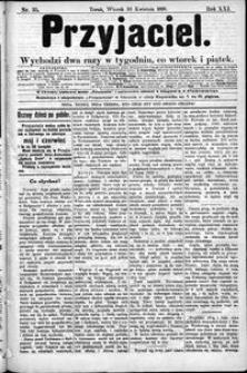 Przyjaciel : pismo dla ludu 1895 nr 35