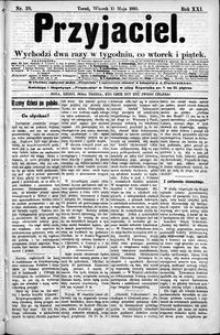 Przyjaciel : pismo dla ludu 1895 nr 39