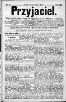 Przyjaciel : pismo dla ludu 1895 nr 41