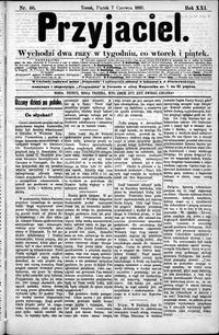 Przyjaciel : pismo dla ludu 1895 nr 46