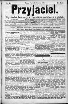 Przyjaciel : pismo dla ludu 1895 nr 48