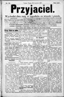Przyjaciel : pismo dla ludu 1895 nr 52
