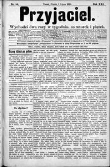 Przyjaciel : pismo dla ludu 1895 nr 54